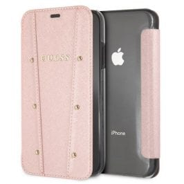 Guess Kaia Rose Gold Book Case iPhone XR