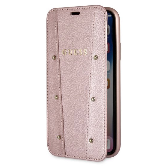 Guess Kaia Rose Gold Book Case iPhone X/XS
