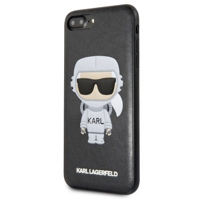 Karl Lagerfeld Space Cosmonaut Black Case iPhone 6 Plus/6S Plus/7 Plus/8 Plus