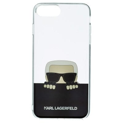 Karl Lagerfeld FlexiBle Black Case iPhone 7 Plus/8 Plus