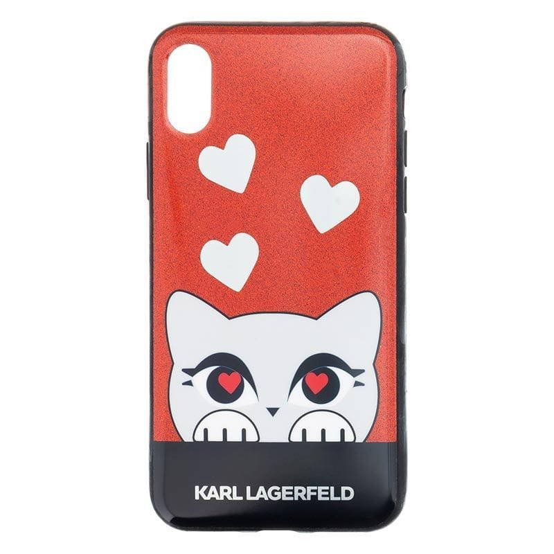 Karl Lagerfeld Graphic Design Case iPhone X/XS