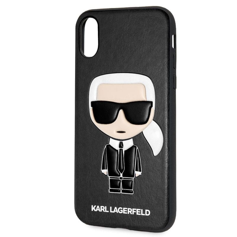 Karl Lagerfeld Ikonic TPU Black Case iPhone X/XS