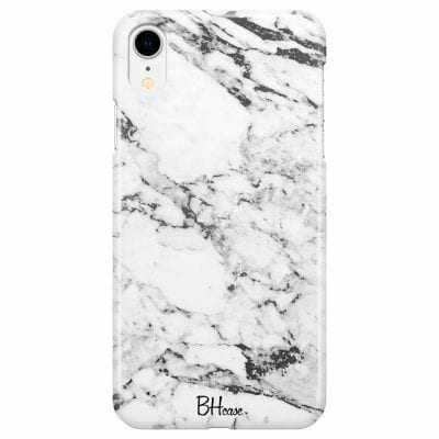 Marble White Case iPhone XR