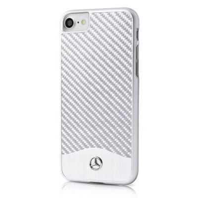 Mercedes Wave V Aluminium Silver Case iPhone 6/6S/7/8