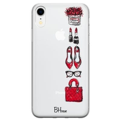 Red Fashion Case iPhone XR