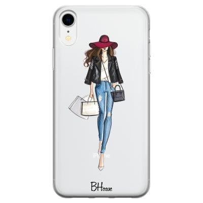 Shopping Girl Case iPhone XR