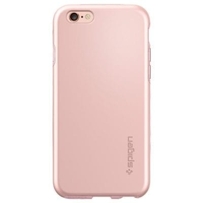 Spigen Thin Fit Hybrid Rose Gold Case iPhone 6/6S