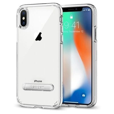 Spigen Ultra Hybrid S Crystal Clear Case iPhone X/XS