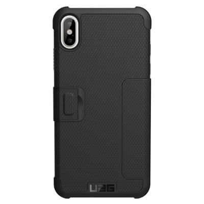 UAG Metropolis Black Book Case iPhone XS Max
