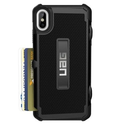 UAG Trooper Black Case iPhone XS Max