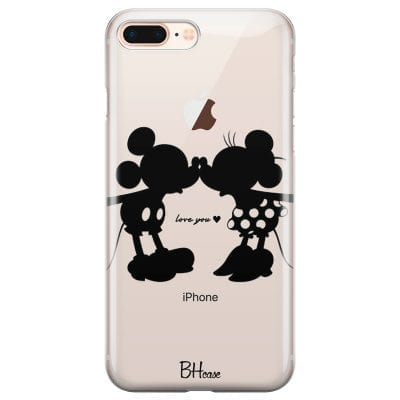 Minnie & Mickey Mouse Case iPhone 7 Plus/8 Plus