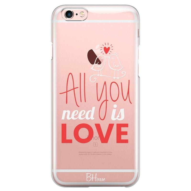 All You Need Is Love Case iPhone 6 Plus/6S Plus