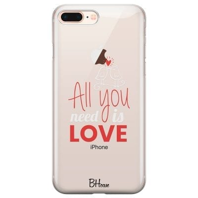 All You Need Is Love Case iPhone 7 Plus/8 Plus