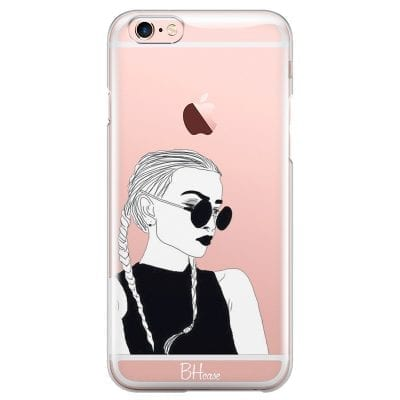 Black And White Girl Case iPhone 6/6S