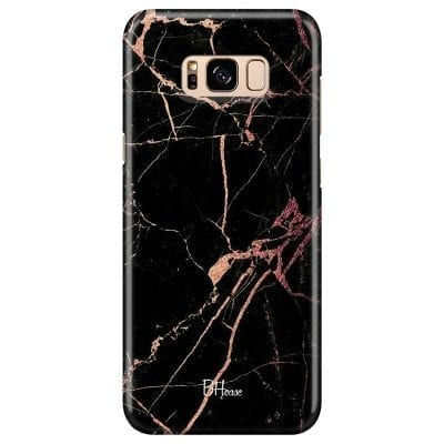 Black Rose Marble Case Samsung S8 Plus