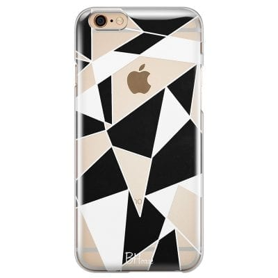 Black White Geometric Case iPhone 6 Plus/6S Plus