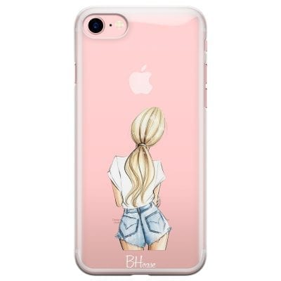 Blonde Back Girl Case iPhone 7/8