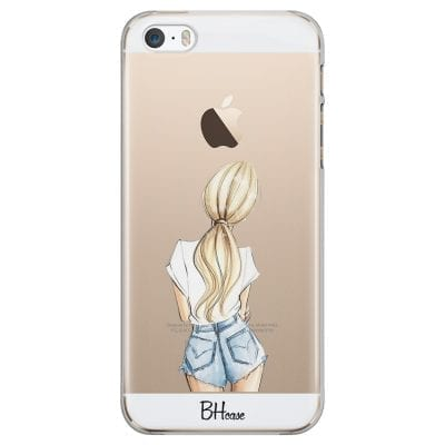 Blonde Back Girl Case iPhone SE/5S