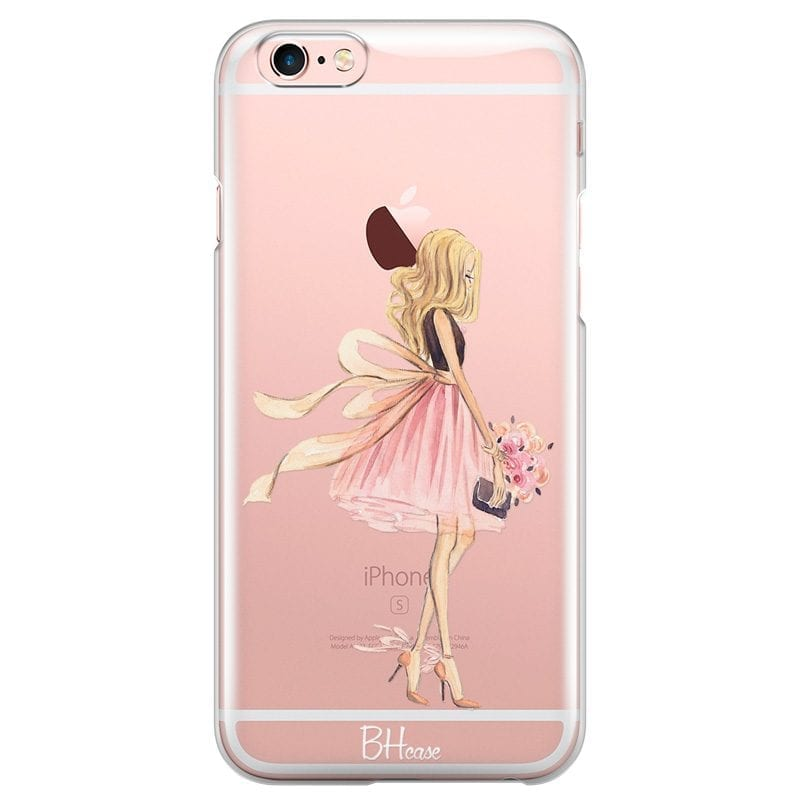 Blonde Girl Case iPhone 6/6S