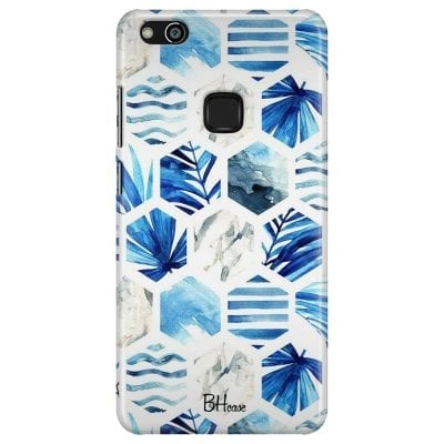 Blue Design Case Huawei P10 Lite