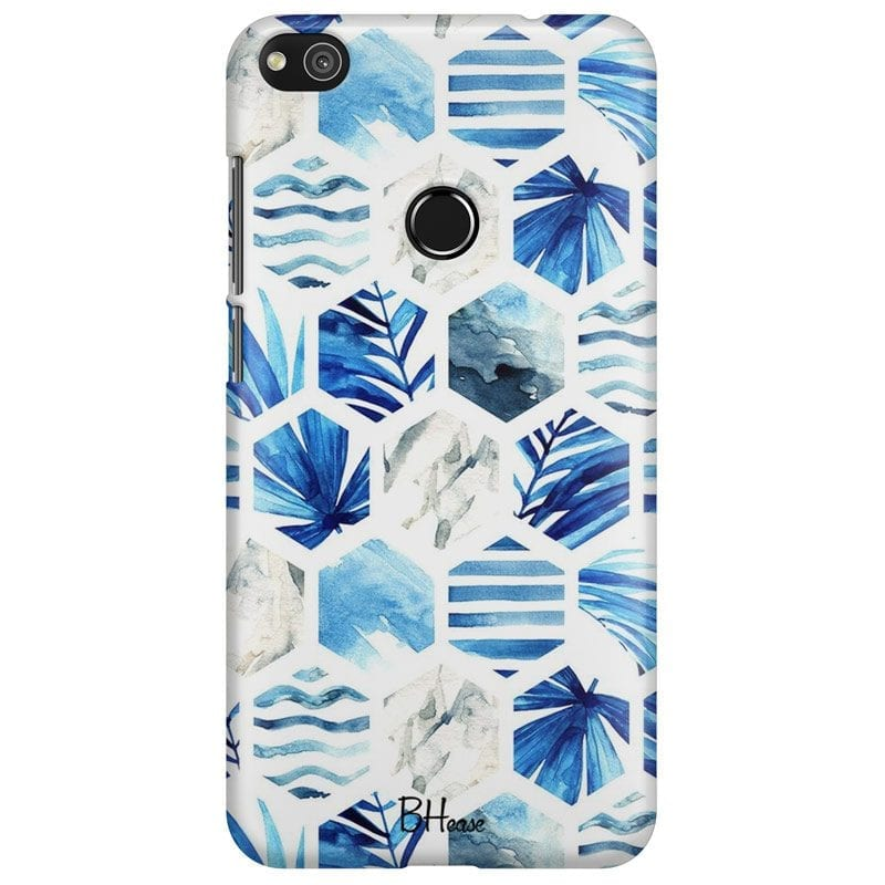 Blue Design Case Huawei P8 Lite