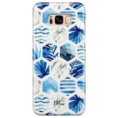 Blue Design Case Samsung S8 Plus