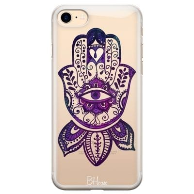 Bohemian Purple Hand Case iPhone 7/8