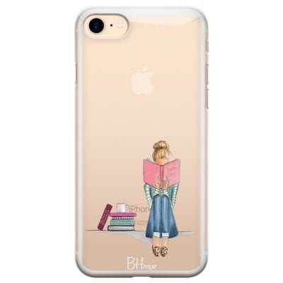 Books Girl Case iPhone 7/8