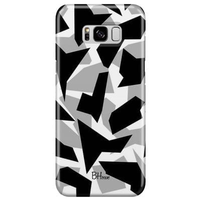 Camo Grey Case Samsung S8 Plus