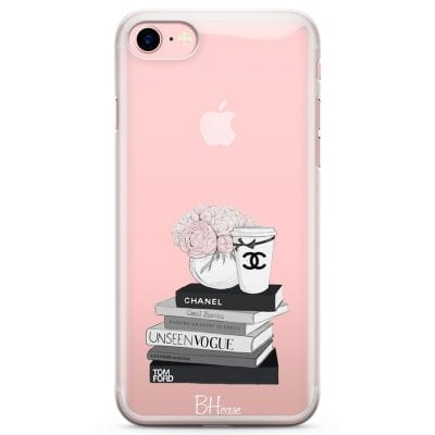 Chanel Vogue Books Case iPhone 7/8