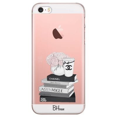 Chanel Vogue Books Case iPhone SE/5S