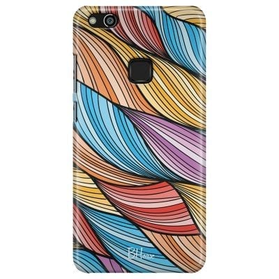 Color Waves Case Huawei P10 Lite