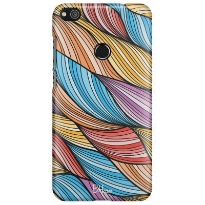 Color Waves Case Huawei P8 Lite