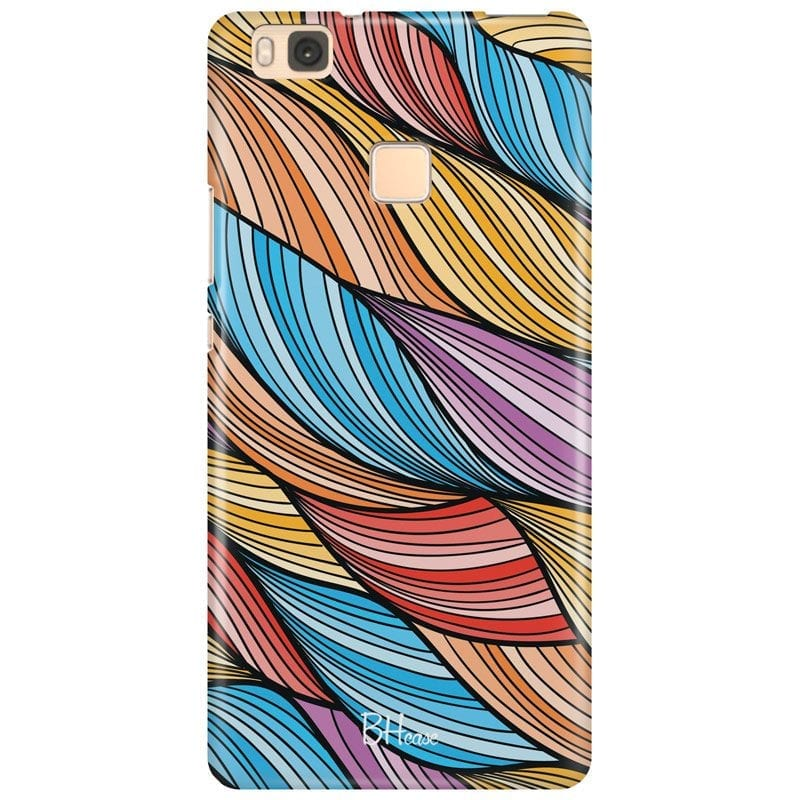 Color Waves Case Huawei P9 Lite
