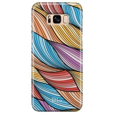 Color Waves Case Samsung S8 Plus