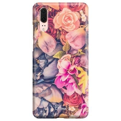 Colorful Flowers Case Huawei P20