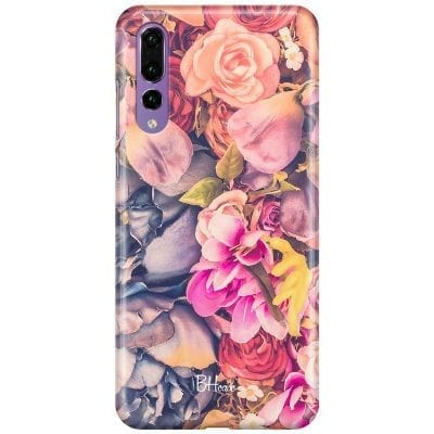Colorful Flowers Case Huawei P20 Pro