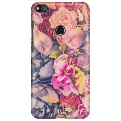 Colorful Flowers Case Huawei P8 Lite