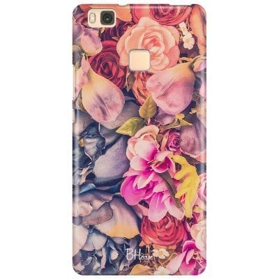 Colorful Flowers Case Huawei P9 Lite