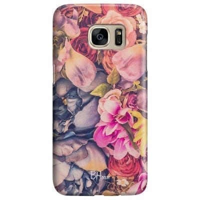 Colorful Flowers Case Samsung S7
