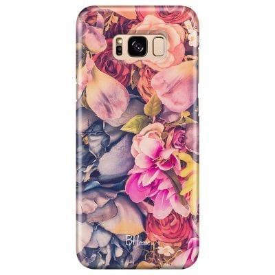 Colorful Flowers Case Samsung S8 Plus