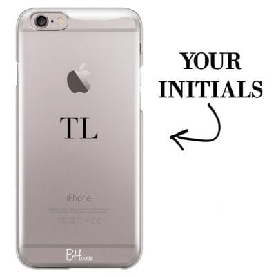 Case with initials for iPhone 6/6S