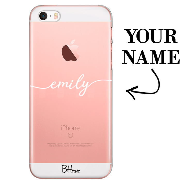 Case with name for iPhone SE/5S