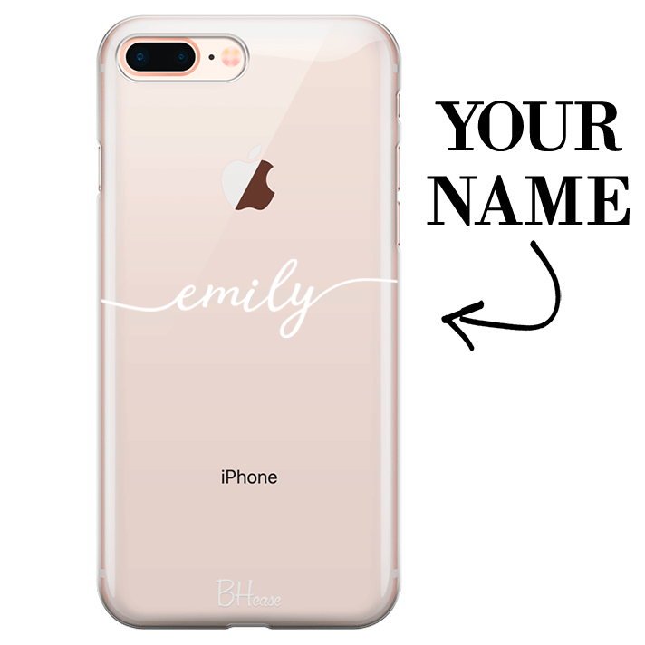 Case with name for iPhone 7 Plus/8 Plus