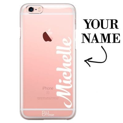 Case with vertical name for iPhone 6/6S