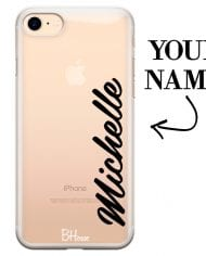 Case with vertical name for iPhone 7/8