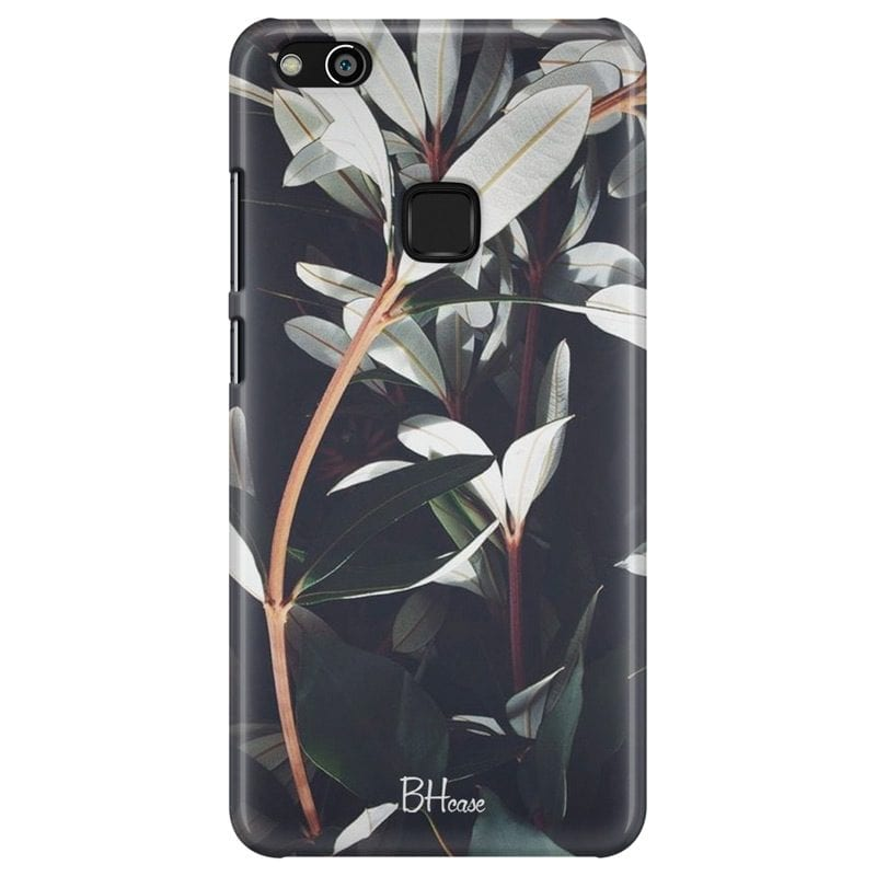 Dark Leaves Case Huawei P10 Lite