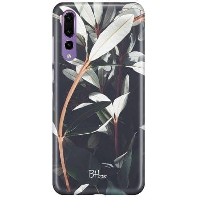 Dark Leaves Case Huawei P20 Pro
