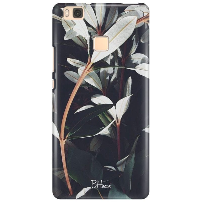 Dark Leaves Case Huawei P9 Lite