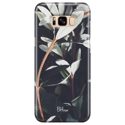 Dark Leaves Case Samsung S8 Plus
